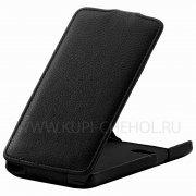 Чехол  откид  LG  D380 L80  UpCase  чёрн