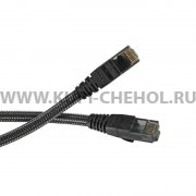 Кабель патч-корд RJ45-RJ45 Remax High-Speed RC-039w Black 1m