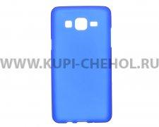 Чехол-накладка Samsung Galaxy On5 синий матовый