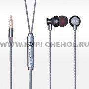 Наушники с микрофоном Ubik UE-04M чёрные