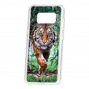 Чехол-накладка Samsung Galaxy S8 Kruche Print Крадущийся тигр