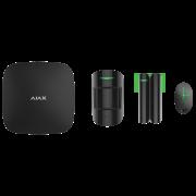 Комплект охранной сигнализации Ajax Hub Kit Plus Black