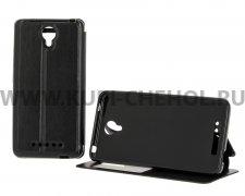 Чехол книжка Xiaomi Redmi Note 2 Book Case Time черный