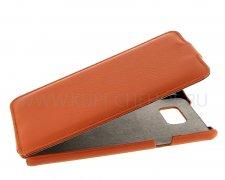 Чехол флип Samsung Galaxy Note 5 UpCase оранжевый