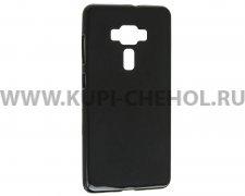 Чехол силиконовый ASUS Zenfone 3 ZS570KL X черный матовый 0.8mm