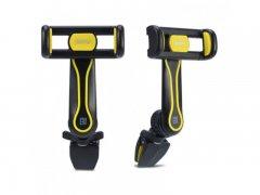 Автодержатель в воздуховод Remax RM-C24 Black/Yellow