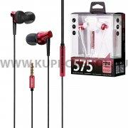 Наушники Remax RM-575 Pro Red