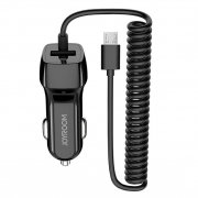 АЗУ Micro+1USB Joyroom UP-522AL 1m Black