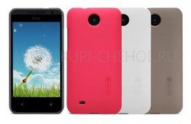 Чехол-накладка HTC Desire 300 Nillkin чёрный