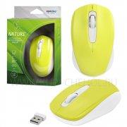Мышка компьютерная б/п SmartBuy 331AG Yellow/White