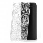 Чехол-накладка iPhone 6 Plus/6S Plus Kruche Skull White 1