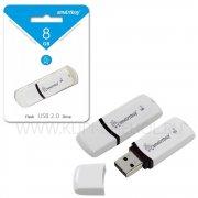 Флеш SmartBuy Paean 8GB White USB 2.0