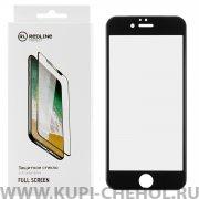 Защитное стекло Apple iPhone 6/6S Red Line Full Screen 3D черное 0.33mm