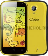 Телефон 4GOOD  S45  KIDS Yellow