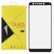 Защитное стекло ASUS ZenFone 5 Lite ZC600KL Glass Pro Full Screen черное 0.33mm