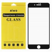 Защитное стекло Apple iPhone 7 Plus Aiwo Full Glue черное матовое 0.33mm