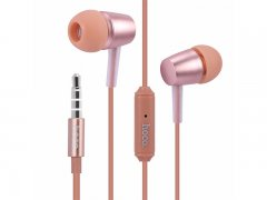 Наушники с микрофоном HOCO M10 Rose gold