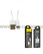 Кабель USB-iP Hoco X1 Rapid White 2m