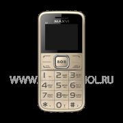 Телефон Maxvi B2 Gold