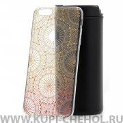 Чехол-накладка iPhone 6 Plus/6S Plus Kruche Print Mandala 01