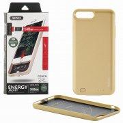 Чехол+АКБ Apple iPhone 7 Plus/8 Plus 3400 mAh Remax Penen PN-02 Gold