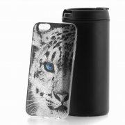 Чехол-накладка Apple iPhone 6/6S 2709 Леопард