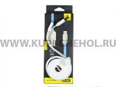 Кабель USB-iP Baseus CAAPLTING-ND02 Symmetric White 1.5m