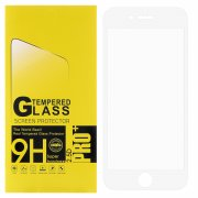Защитное стекло Apple iPhone 6/6S Glass Pro Full Glue 3D белое 0.33mm