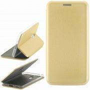 Чехол книжка NOKIA 6 Book Case New 3D золотой