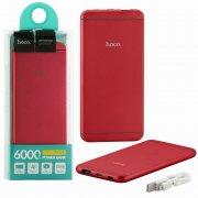 Power Bank 6000 mAh Hoco UPB03 Red