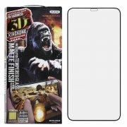 Защитное стекло Apple iPhone XS Max/11 Pro Max WK Kingkong 3D Gaming Black матовое 0.2mm