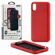 Чехол+АКБ iPhone X 3600 mAh WK WP-029 Red