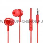 Наушники с микрофоном HOCO M14 Red