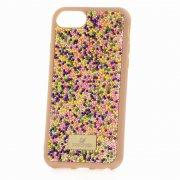 Чехол-накладка iPhone 7 Swarovski Бусины Multicolor