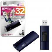 Флеш Silicon U05 Ultima 32Gb Blue USB 2.0