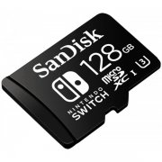 Micro SD 128Gb class 10 к/п SanDisk Nintendo Switch 90Mb/s