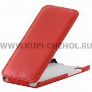 Чехол флип Xiaomi Mi5 UpCase красный
