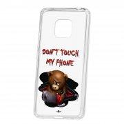 Чехол-накладка Huawei Mate 20 Pro Kruche Print Не бери мой телефон