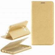 Чехол книжка Samsung Galaxy A7 (2016) A710 New Case 001 золотой