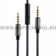 Кабель Jack 3.5 - Jack 3.5 Hoco UPA04 Tarnish 1m
