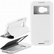 Чехол книжка HTC One M9 Ulike 7174 белый