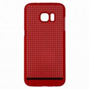 Чехол-накладка Samsung Galaxy S7 Edge П19035 красный