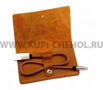 USB Apple iPhone 5 Baseus CALYN-B0T Brown 30см