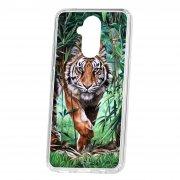 Чехол-накладка Huawei Mate 20 Lite Kruche Print Крадущийся тигр