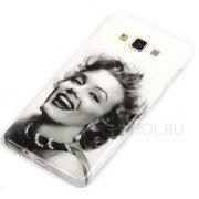 Чехол силиконовый Samsung Galaxy A7 A700f 8571