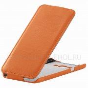 Чехол флип Samsung Galaxy A8 A800f UpCase оранжевый