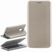 Чехол книжка Samsung Galaxy A8 2018 (A530) 9805 серый