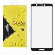 Защитное стекло Huawei P Smart Glass Pro Full Screen чёрное 0.33mm