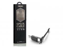 Кабель Multi USB-iP+Micro+Type-C Remax RC-070TH Black 1m