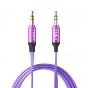 Кабель Aux (Jack 3.5) Finity Luxe 1m Purple